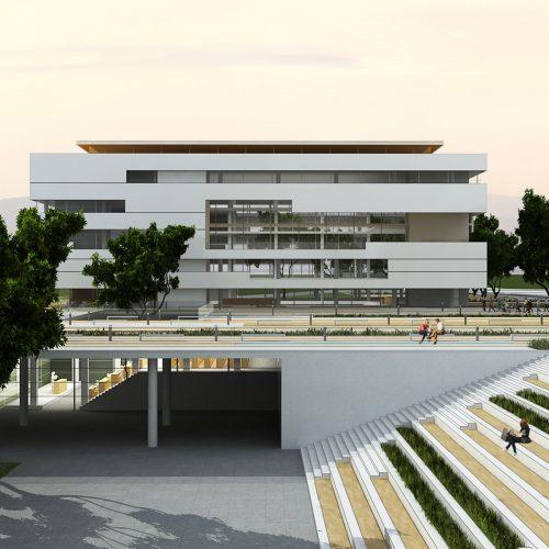 hatay il özel idaresi binası mimari proje