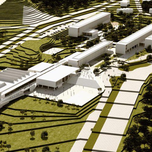 gökçeada lise kampüsü mimari proje