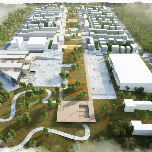 tekirdag belediyesi hizmet binasi mimari proje